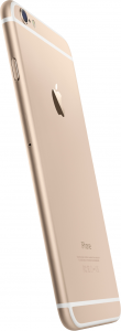 iphone 6 gold zijkant