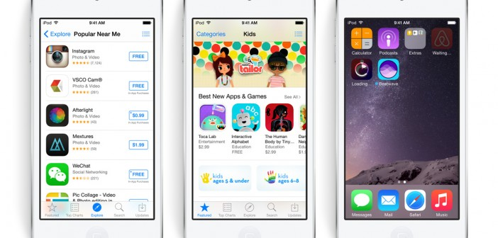 Kleine aanpassing in de Apple App Store