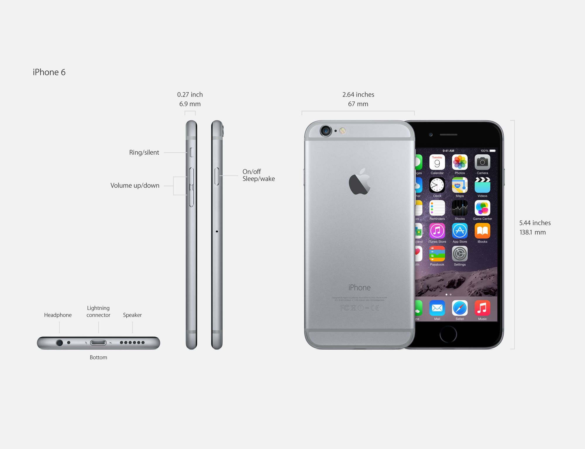 Apple iPhone 6 32gb kopen Apple iPhone 6s Plus - Full phone
